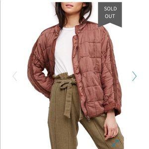 Free people Dolman quilted jacket medium